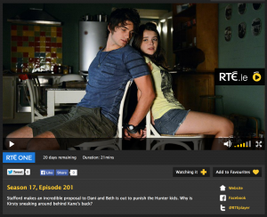 RTE player out of date info